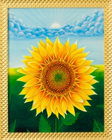 6. Sunflower_framed
